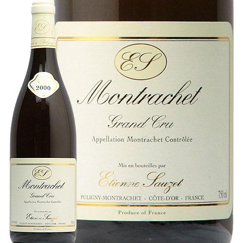 ル モンラッシェ 2000 エティエンヌ ソゼ Le Montrachet Etienne Sauzet 白ワイン フランス モンラッシェ ソゼ 辛口 フィラディス 特級畑 ブルゴーニュ グランクリュ