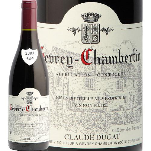 ジュヴレ シャンベルタン 2008 クロード デュガ Gevrey Chambertin Claude Dugat 赤ワイン フランス ブルゴーニュ ピノ ノワール 辛口 フィラディス