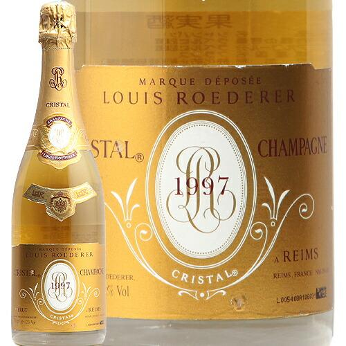 クリスタル 1997 ルイ ロデレール Cristal Louis Roederer シャンパーニュ シャンパン プレステージ 辛口 JIS