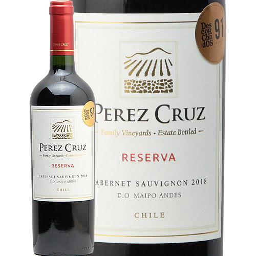 造るのは赤ワインのみ 葡萄は自家畑のみ 2万円以上で送料無料 ペレス クルス カベルネ ソーヴィニヨン レセルバ 直営店 2018 売買 Perez 稲葉 フルボディ 赤ワイン Reserva チリ Cabernet プラチナム獲得 Sauvignon Cruz