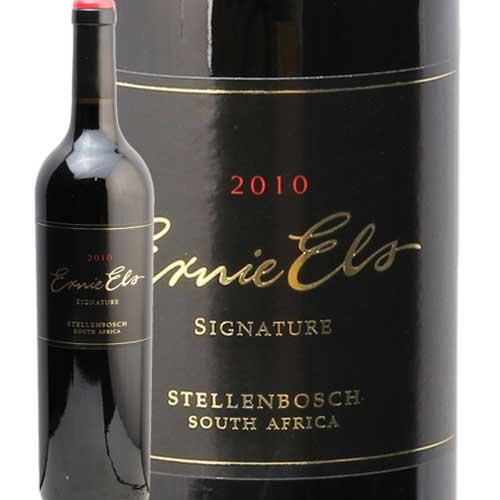 アーニー エルス シグネチャー 2010 Ernie Els Signature 赤ワイン 南アフリカ フルボディ エイマーケット あす楽 即日出荷