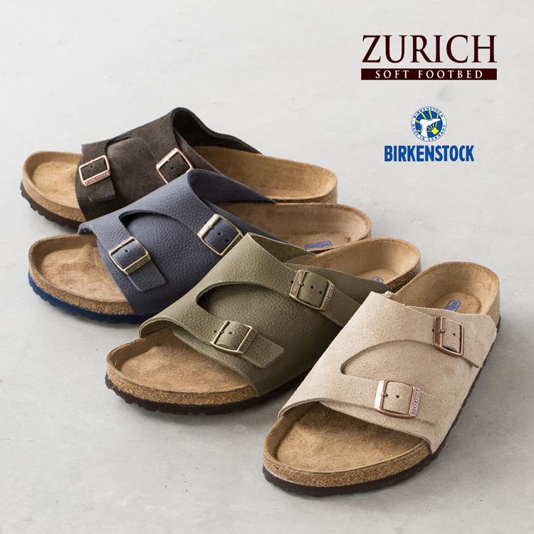 ビルケンシュトック チューリッヒ ZURICH ソフトフットベッド メンズサイズ