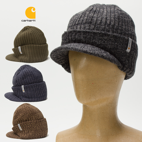 2c9216d889c Carhartt Knit Hat With Visor - Hat HD Image Ukjugs.Org