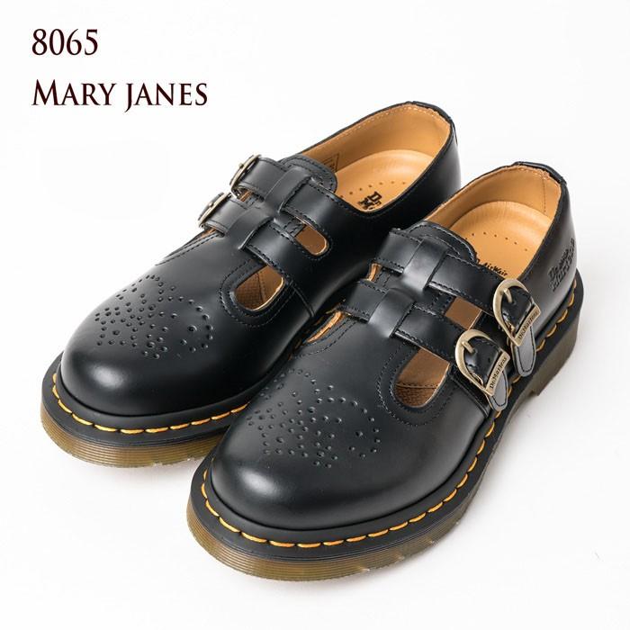 [プライスダウン]ドクターマーチン 8065 メリージェーン Dr.Martens MARY JANE 12916001 レディース ストラップ シューズ 【送料無料】