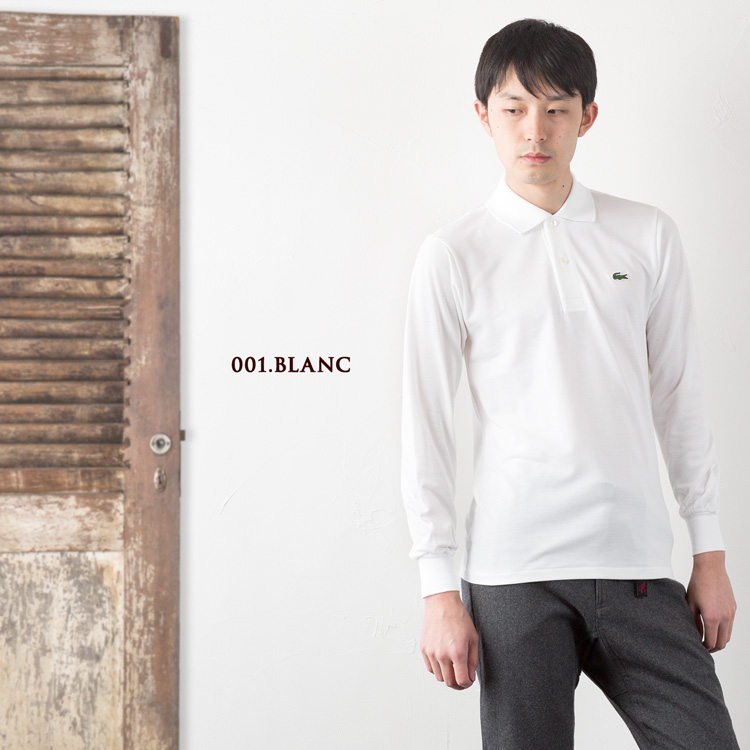 6b230708 ... Lacoste Polo made in Japan long sleeve polo long-sleeved Polo L1312  LACOSTE LONG SLEEVE ...