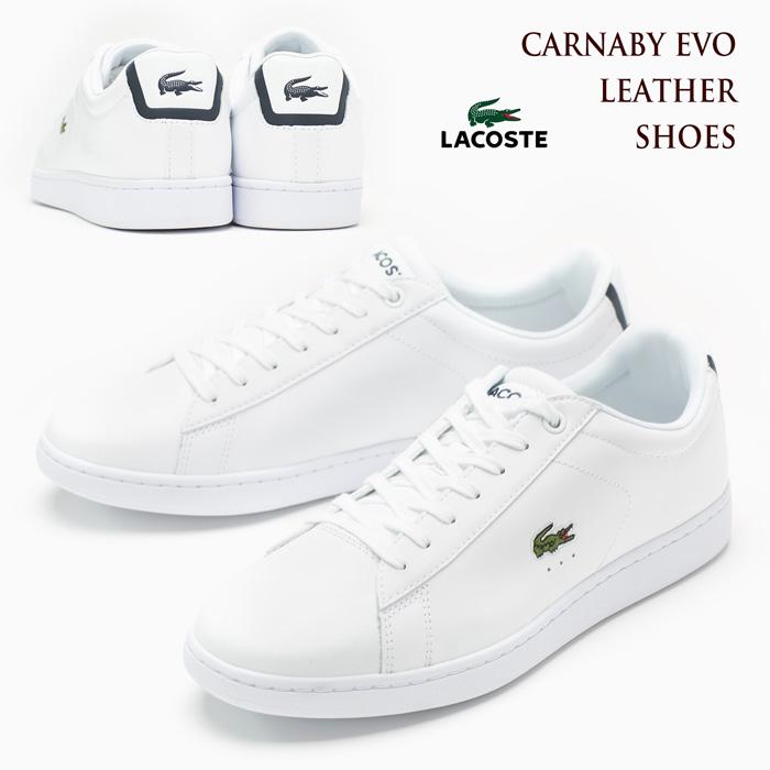 ラコステ カーナビー エヴォ BL1 SPM1002 LACOSTE CARNABY EVO [ホワイト] メンズ スニーカー/シューズ