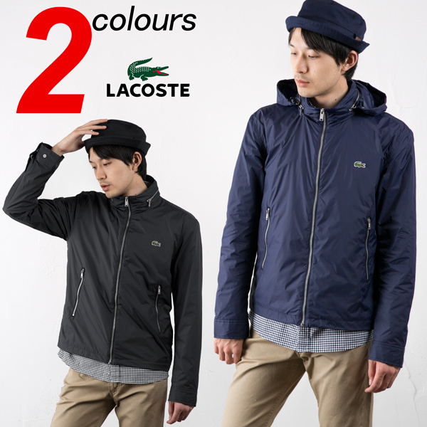 [라 코스 테 켓] 나일론 스포츠 LACOSTE WATER-REPELLENT TAFFETA WINDBREAKER YH