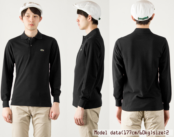 ff3a621dcccc Lacoste Polo made in Japan long sleeve polo long-sleeved Polo L1312 LACOSTE  LONG SLEEVE POLO SHIRT