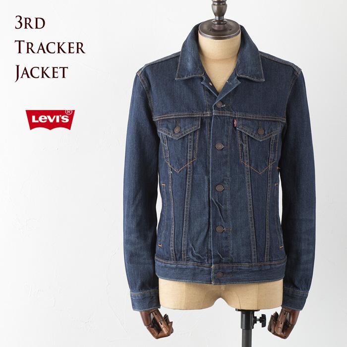 [リーバイス ジャケット] 3RDタイプ トラッカージャケット [ミッドカラー/14.8ozデニム] ピッコロ Levi's TYPE3 TRUCKER JACKET 72334-0142