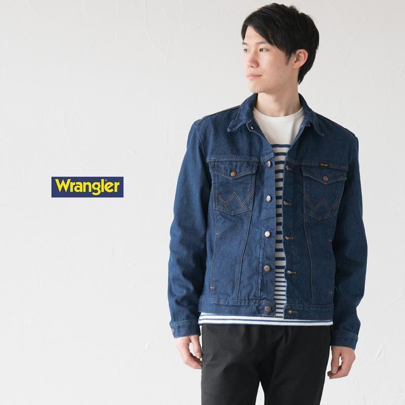a1f6da43 Wrangler cowboy cut denim jacket 14oz broken denim 74145PW men G Jean ...