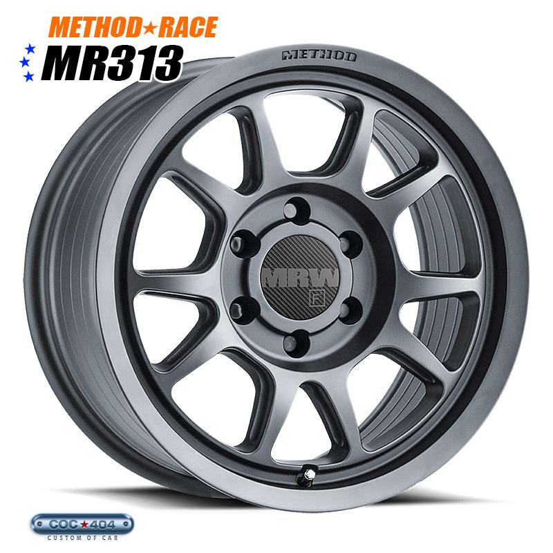 【17インチ 8.5J】Method Race MR313 チタニウム 1本