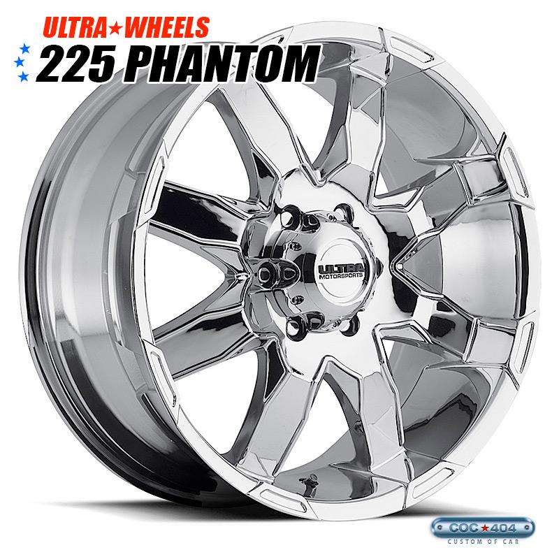 【18インチ】Ultra 225 Phantom クローム 1本