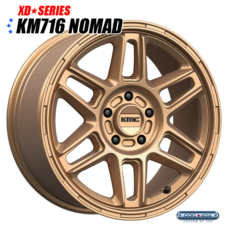 【15インチ】KMC KM716 Nomad マットブロンズ 1本