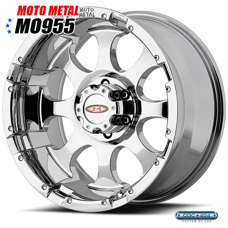 【20インチ】MOTO METAL MO955 クローム 1本