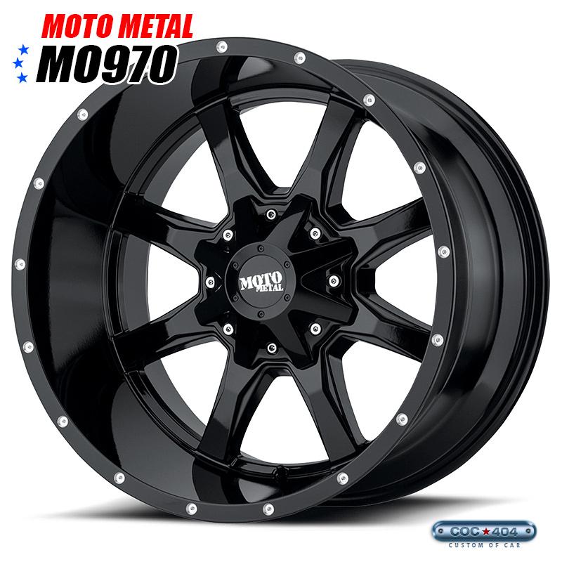 【18インチ 9J】MOTO METAL MO970 グロスブラック 1本