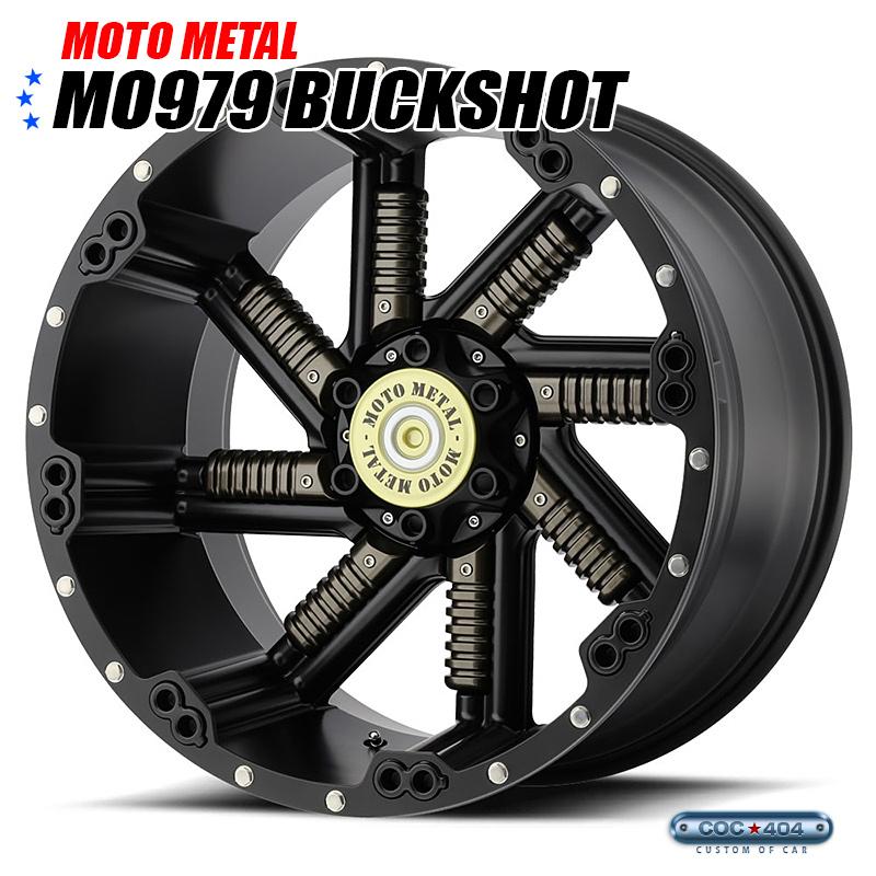 【20インチ 10J】MOTO METAL MO979 サテンブラック&ガンメタルインサート 1本