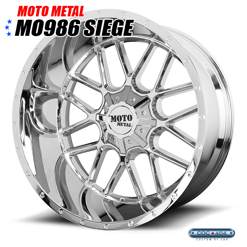 【20インチ 9J】MOTO METAL MO986 クローム 1本