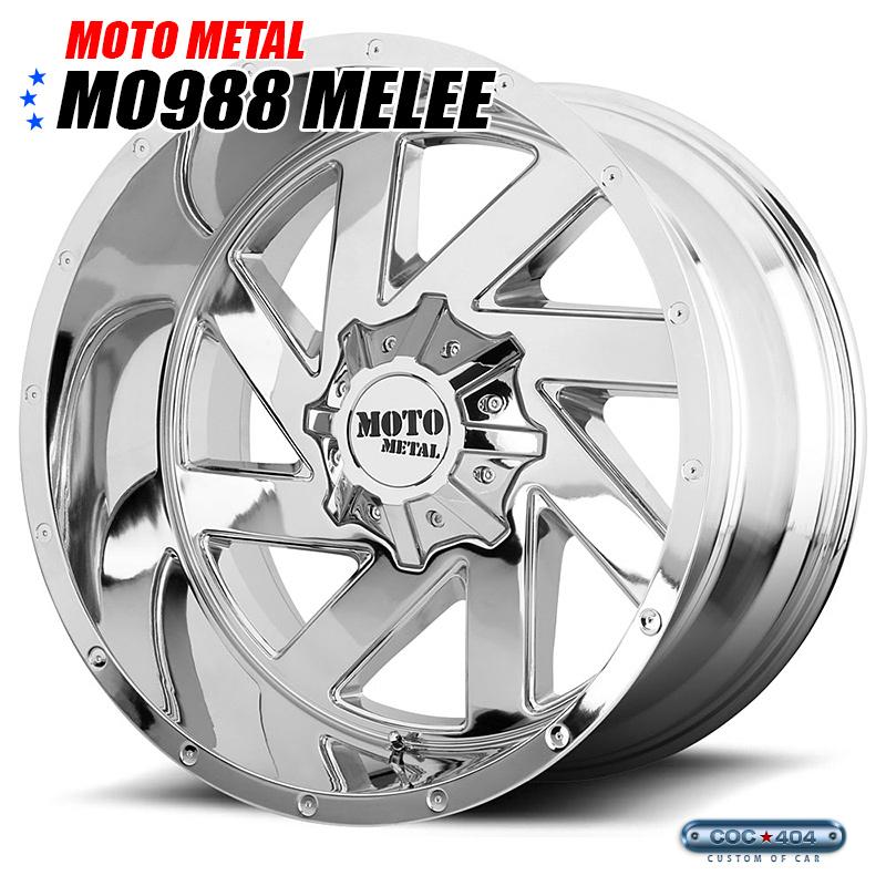 【20インチ 10J】MOTO METAL MO988 クローム 1本