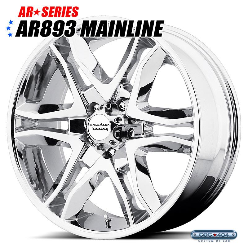 American Racing AR PERFORM AR893 Mainline(メインライン)クローム 16インチ 1本