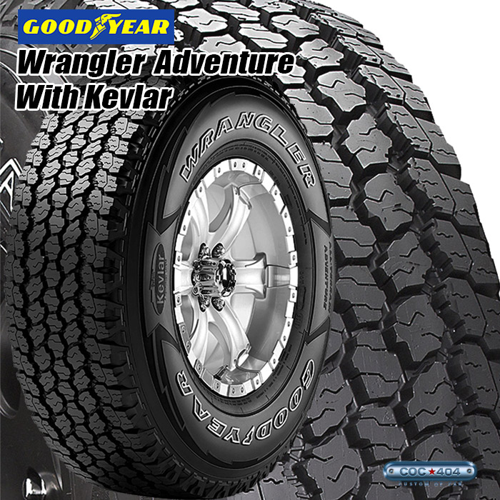 245/70R17 WRANGLER All-Terrain Adventure with Kevlar WH 245/70-17 オフロードタイヤ of
