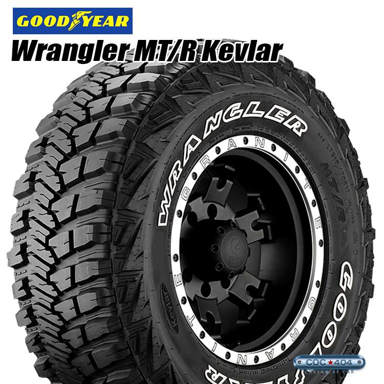 LT42X14.5R17 GOODYEAR WRANGLER MT/R Kevlar BK LT42X14.5-17 オフロードタイヤ of