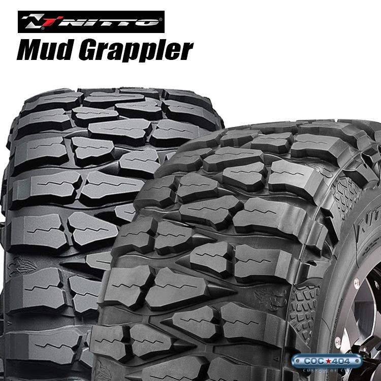 40X15.50R22LT NITTO Mud Grappler 40-15.50-22LT オフロードタイヤ of