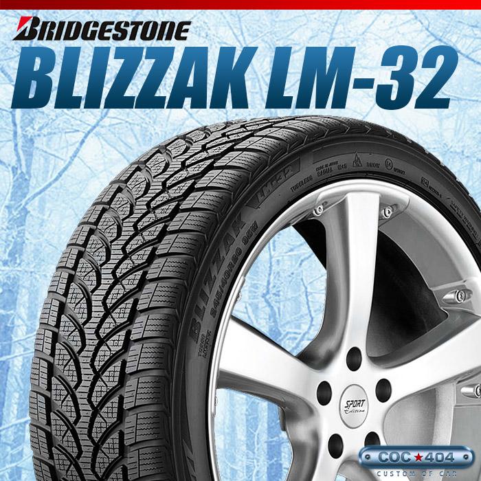 【保証書付】 265/35-19 BRIDGESTONE Blizzak LM-32 265/35R19 1本, NEWING 4e10dc9b