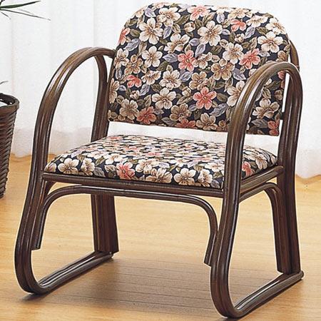 籐製アームチェア ミドル 籐 ラタン おしゃれ アジアン 家具 S212B