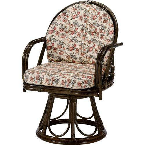籐回転座椅子 ハイ 籐 ラタン おしゃれ アジアン 家具 S254B