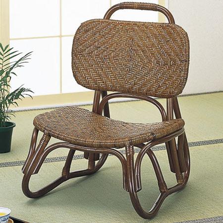 籐椅子 籐 ラタン おしゃれ アジアン 家具 S52B