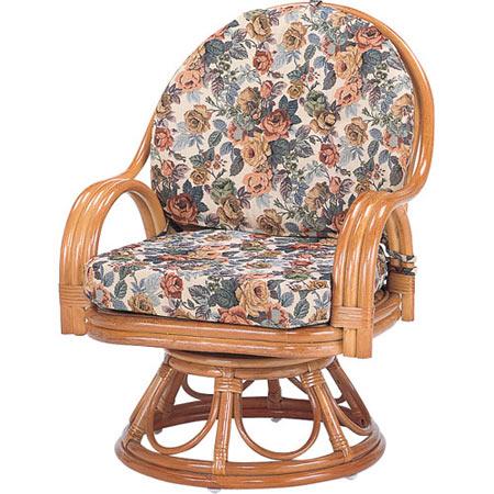 籐回転座椅子 ハイ 籐 ラタン おしゃれ アジアン 家具 S583