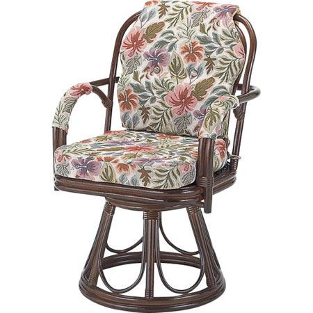 籐回転座椅子 ハイ 籐 ラタン おしゃれ アジアン 家具 S654B