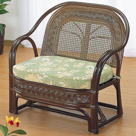 籐製アームチェア 籐 ラタン おしゃれ アジアン 家具 Y501B