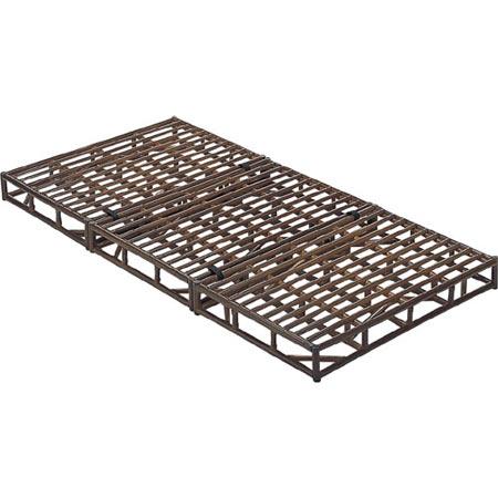 籐製すのこベッド台 シングル 籐 ラタン おしゃれ アジアン 家具 Y913B