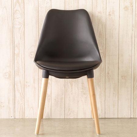 ダイニングチェア 1人掛け マルコ 幅49 奥行き53 高さ84 座面高48 ブラック ■ ダイニングチェアー おしゃれ ダイニング キッチン チェア チェアー イス いす 椅子 ma-chair-bk