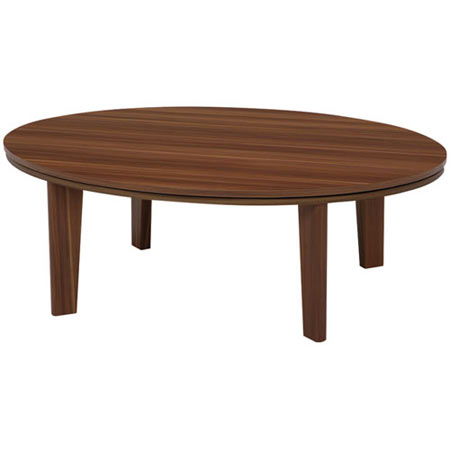 こたつテーブル 楕円 オーバル アベルSE 幅105 奥行き75 高さ36 ブラウン こたつ 単品 石英管ヒーター リバーシブル 天板 オーバルこたつ コタツテーブル こたつ コタツ テーブル リビングテーブル ローテーブル おしゃれ リビング こたつ コタツ おこた ablse105ovbr
