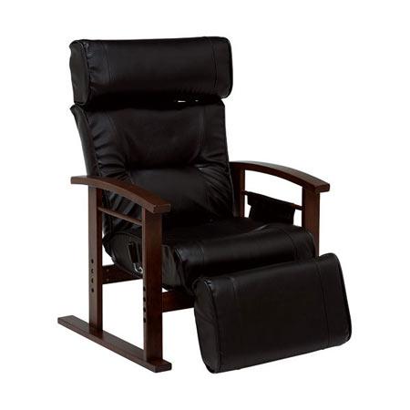リクライニング高座椅子 ブラック