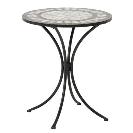 花崗岩モザイクデザインガーデンテーブル LT-4360