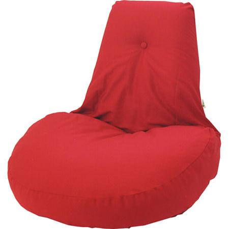 ふわふわリクライニング座椅子 凛 レッド ■ 1人掛け 一人掛け 1人用 一人用 1P リクライニング 座椅子 座イス 座いす チェアー チェア rin-fuwa-re