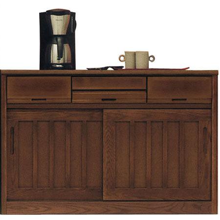 完成品 日本製 和風キッチンカウンター 茶々 幅118cm 高さ79cm ◆