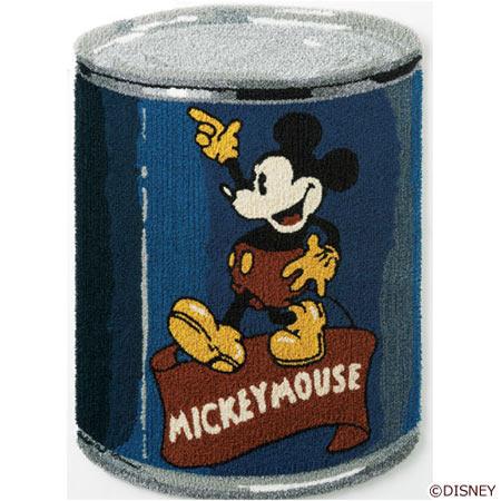 ディズニー Vintage SERIES ミッキー MICKEY/Can カン ラグ DRM-4031-B<143-41751>
