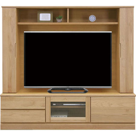 壁面 テレビ台 バイオレット 幅170 ナチュラル 0002545