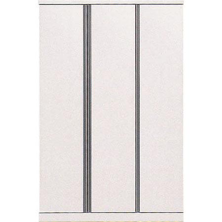 クローゼット デュオ 幅119cm 高さ183cm ホワイト