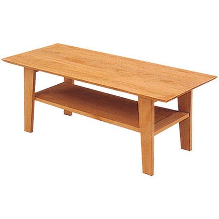 リビングテーブル ティアラ 幅105cm 高さ40cm ナチュラル