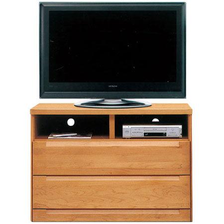 ハイタイプテレビ台 スカーレット 幅106cm 高さ75cm ナチュラル