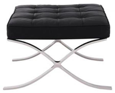 バルセロナ オットマン バルセロナ オットマン 1人掛け 一人掛け リプロダクト バルセロナチェアー ミース ファン デル ローエ レザー 椅子 イス チェア チェアー デザイン デザインチェアインテリア