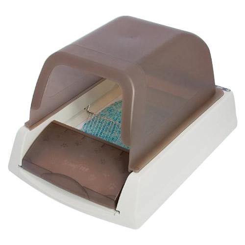 【代引き·同梱不可】 PetSafe Japan ペットセーフ スクープフリー ウルトラ 自動ねこトイレ PAL18-14280 掃除 におい 本体 処理 シリカゲル 砂 乾燥 楽