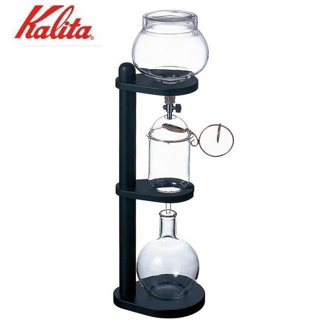 プレスコーヒーメーカー フレンチプレス コーヒードリップ ケトル 水出しコーヒー 【代引き・同梱不可】 Kalita(カリタ) ダッチコーヒーサーバー(冷水用) ウォータードリップムービング 45067