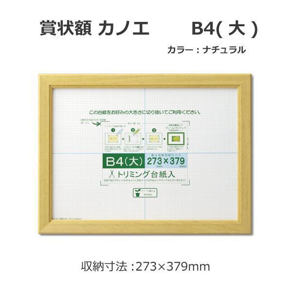 壁掛け 絶品 写真 フレーム b4 木製 代引き 同梱不可 賞状額 B4 高価値 額縁 カノエ フォトフレーム 33J635D2900 大 ナチュラル おしゃれ