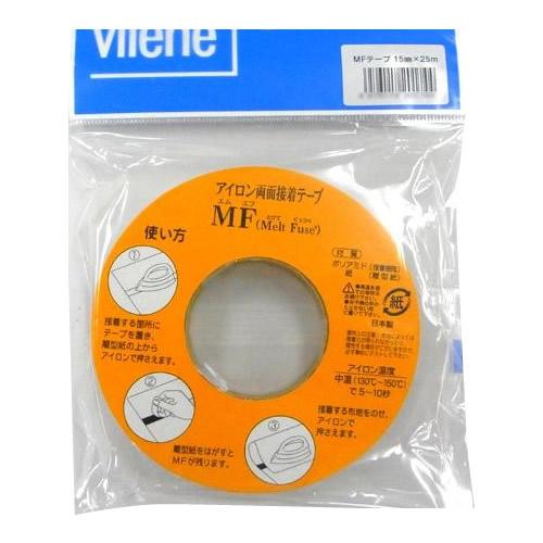 COCO-LIFEは その時 その時に生活の喜びを感じていただける 誰かに伝えたくなる 交換無料 商品をより多くのお客様へお届けいたします 即納最大半額 代引き 同梱不可 15mm幅×25m巻 アウルスママのアイロン両面接着テープ MFテープ ×10個セット